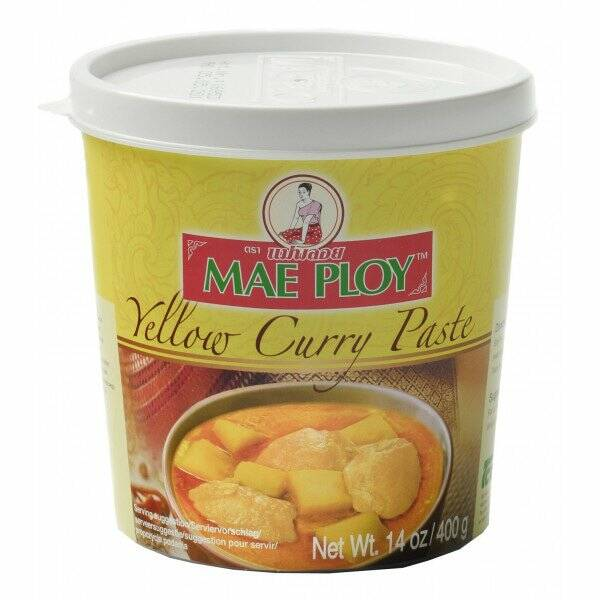 Mae Ploy Yellow Curry Paste 400 gr