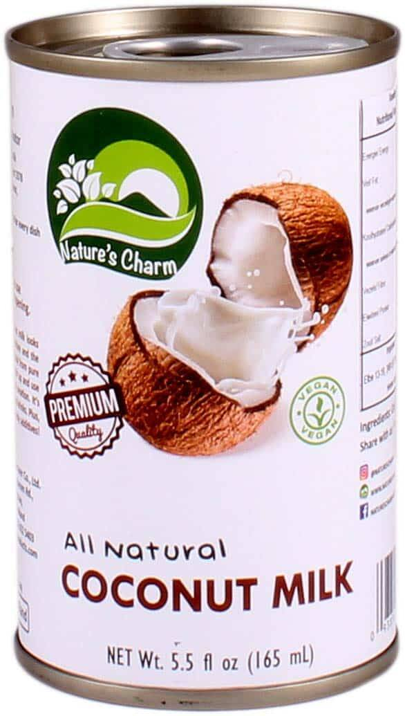 Nature's Charm Coconut Milk All Natural 165 ml