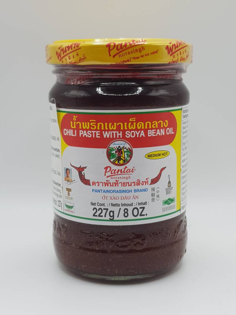 Pantai Chili Paste With Soya Bean Oil 227 gr