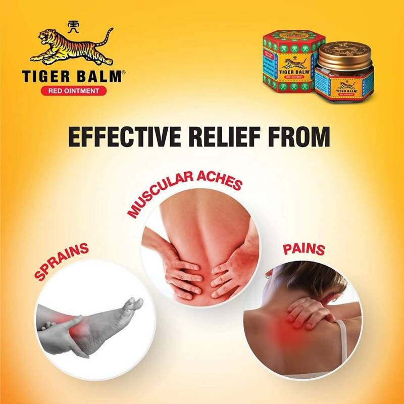 Tiger Balm Red Ointment Cream 20 gr