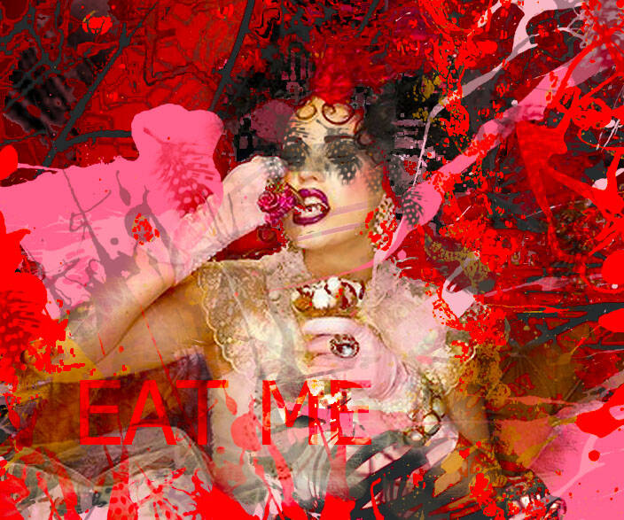 SPECIAL LIMITED EDITION DIGITAL PHOTO ART Plexiglas 2020 EAT ME