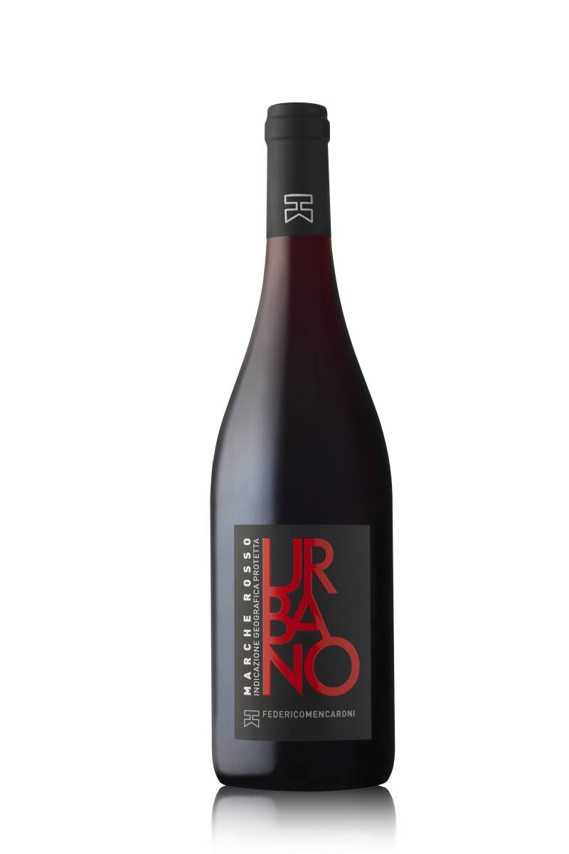 Urbano - Marche Rosso - Vol Rood Houtlagering - IGP