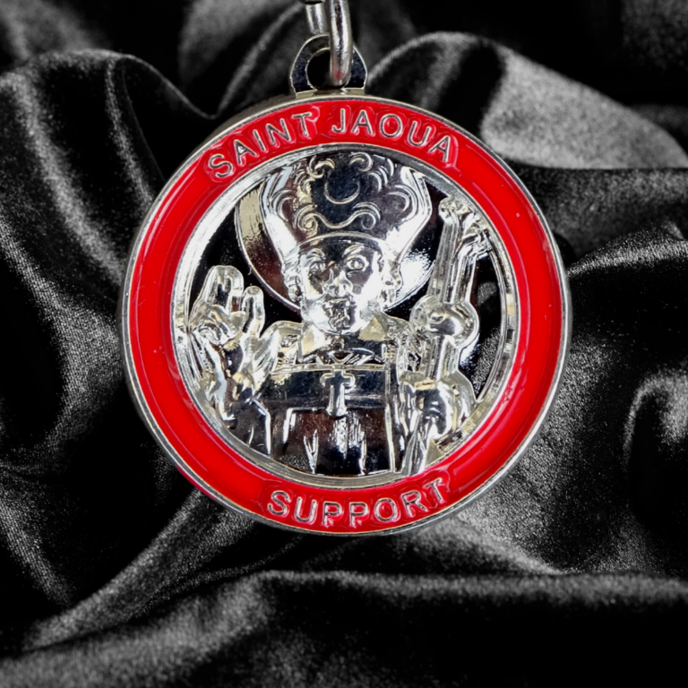 Saint Jaoua against Cancer - Traditional size Pendant