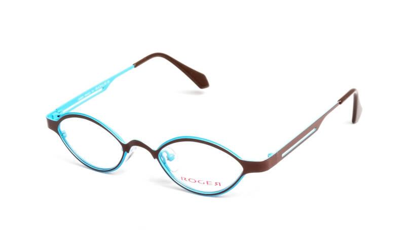 Timber chocolate/Turquoise