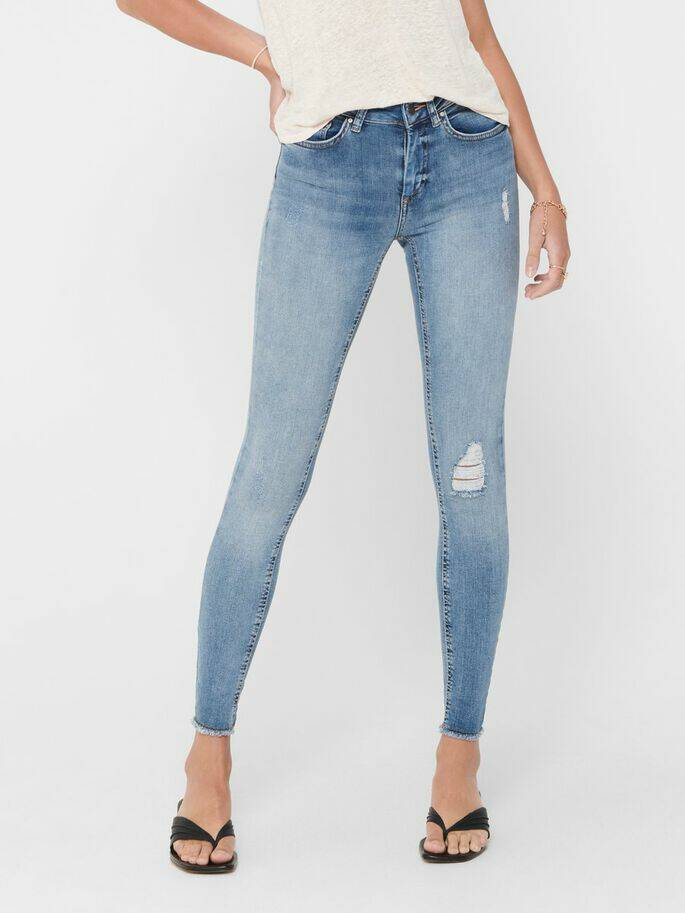 ONLY BLUSH ANKLE SKINNY JEANS REA 213