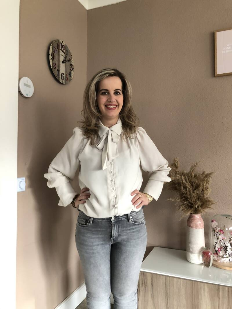 ONLY Evelyn Bow Tie blouse 2 kleuren