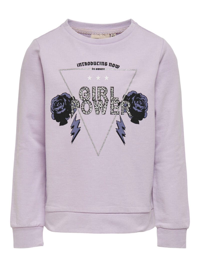 Konlucinda life  l/s Wild Girl Cs swt Orchid Bloom
