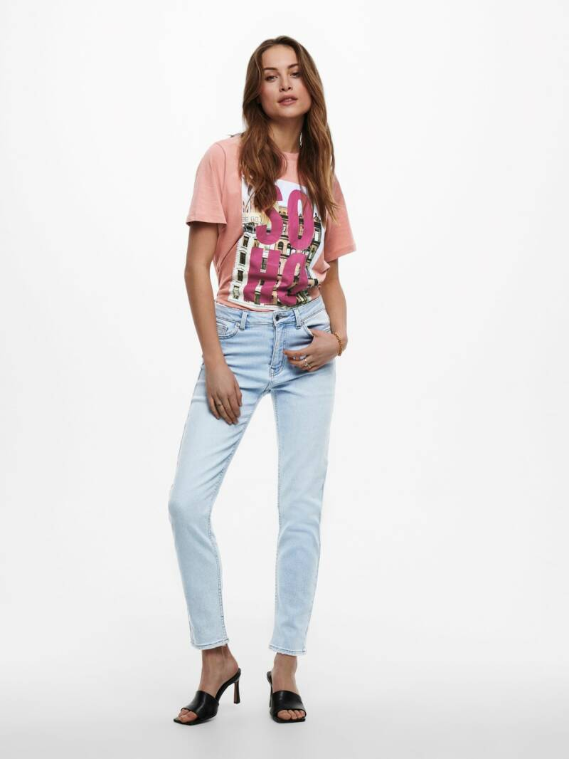 ONLY Erica Life Midwaist Straight Ankle Jeans MAE041