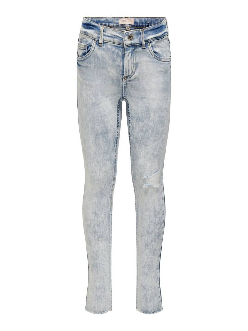 ONLY KIDS Blush Skinny Raw Destroyed Jeans
