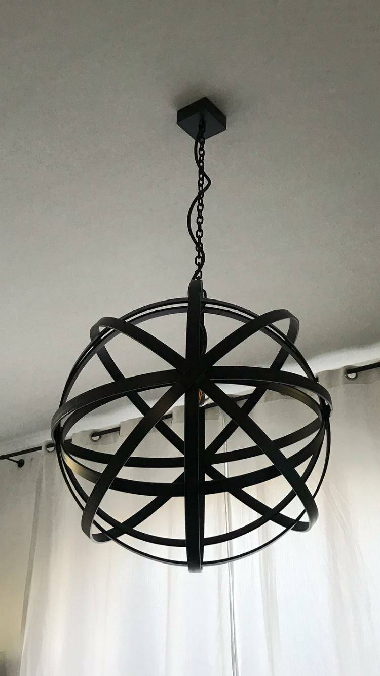 Design hanglamp in staal