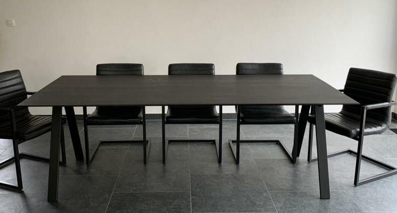 eettafel Edge black
