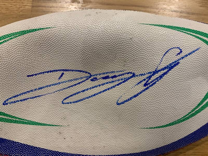 Signed Ball Pencil Cases