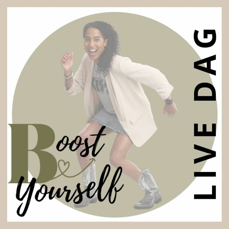 BOOST YOURSELF - Live dag (30% korting)
