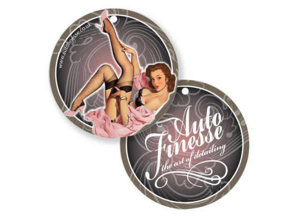 Auto Finesse Pin Up Aroma - Berry (roze)