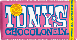 Tony's Chocolonely wit framboos knetter