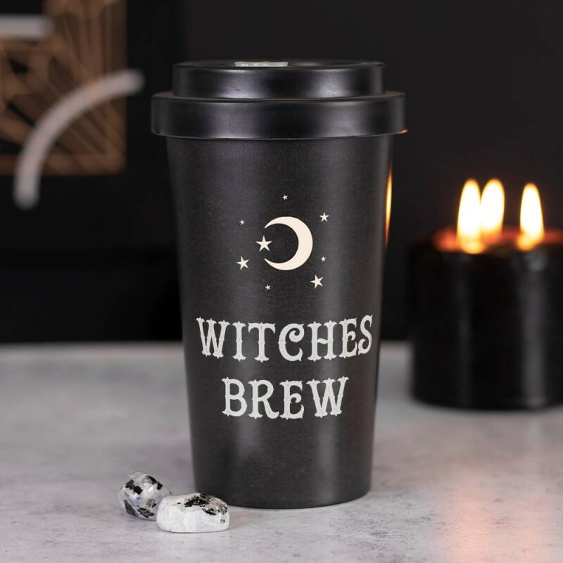 Herbruikbare reismok Witches Brew