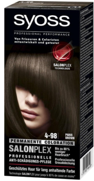 Syoss Salonplex Coloration 4-98 Paris Brown