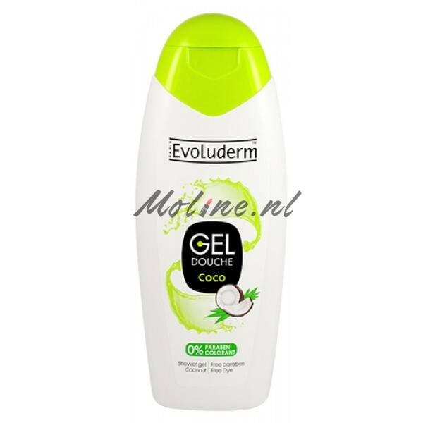 Evoluderm Douche Gel Cocosnoot 400ml