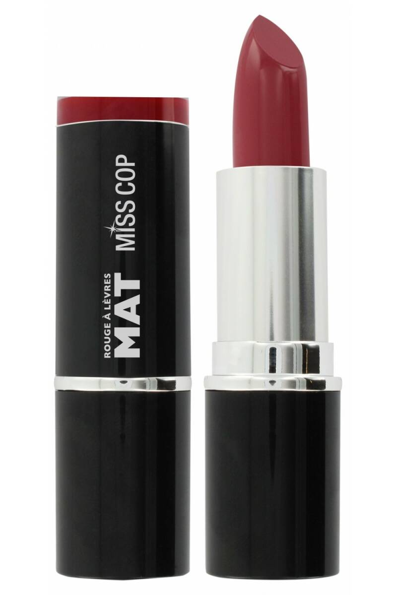 Miss Cop Matte Lipstick 03 – plum color