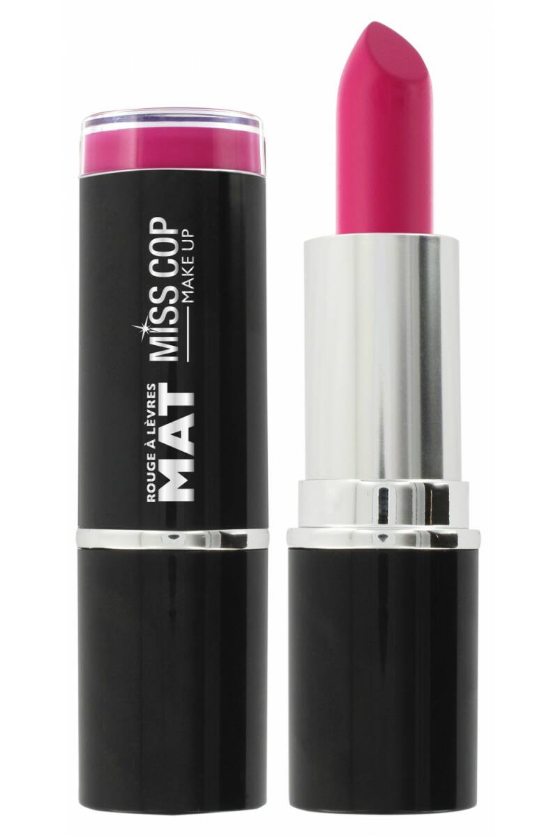 Miss Cop Matte Lipstick – 07 Adorable Rose