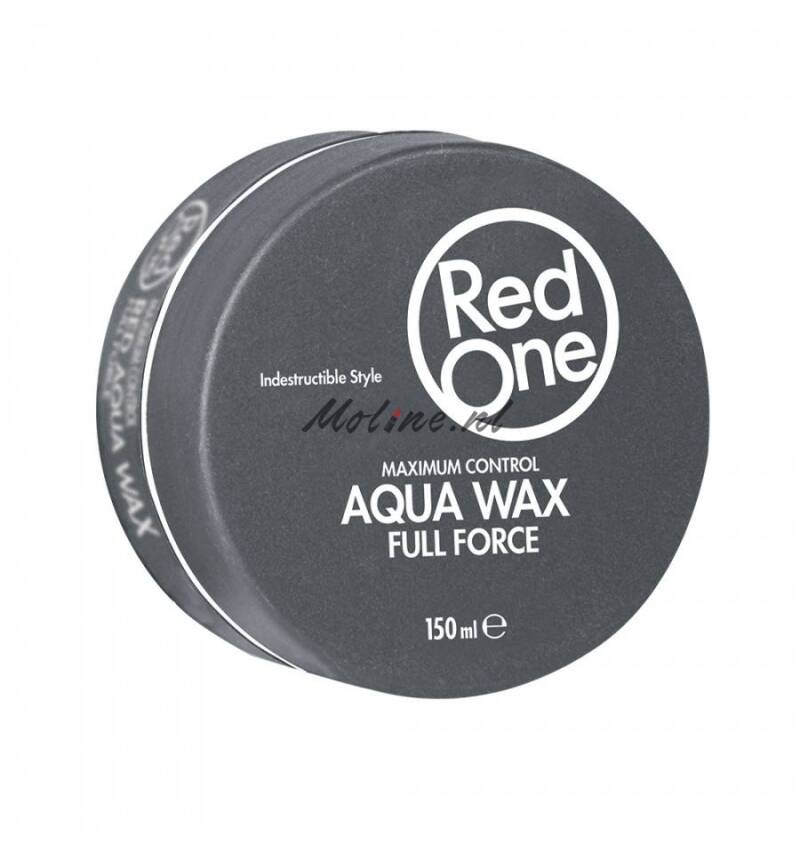 Redone full force aqua wax, grijs, 150 ml