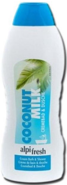 AlpiFresh Crémebad & Douche- 1000ml - Kokosnoot en Melk