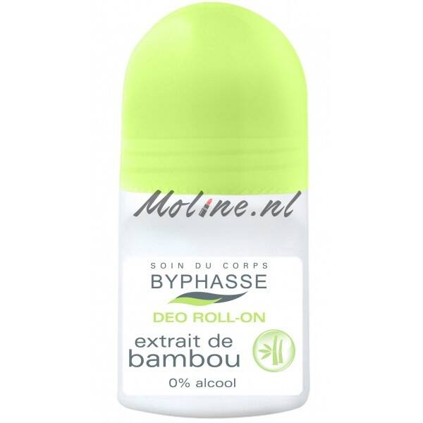 Byphasse 24h deodorant bamboo extract 50ml