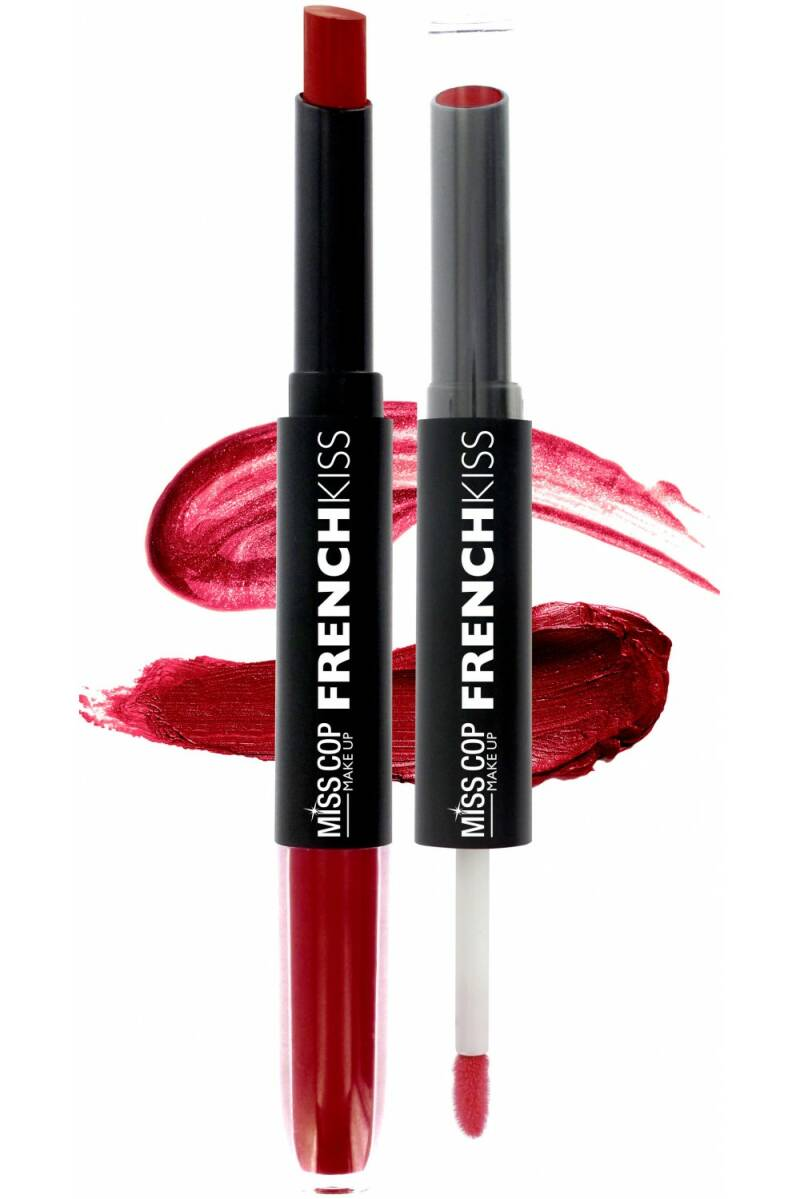 Miss Cop FRENCH KISS Duo Gloss & Lipstick 05 Cerise