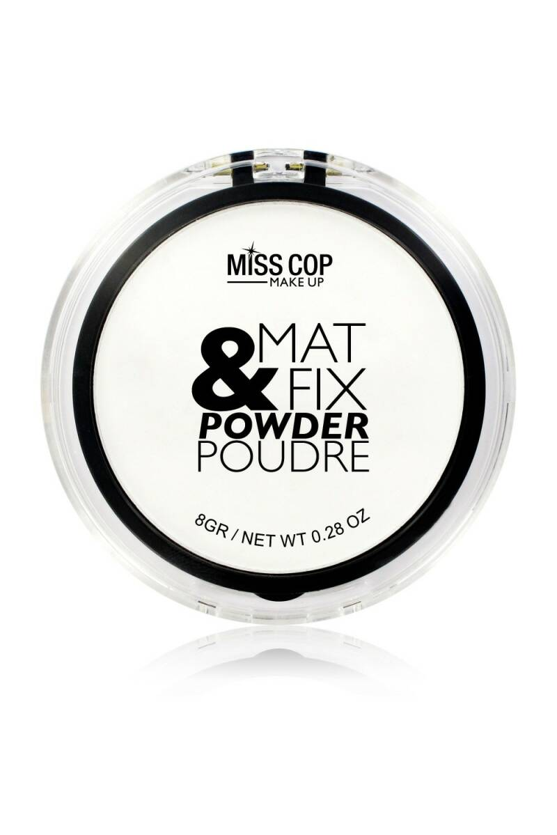 Miss Cop Mat & Fix Powder