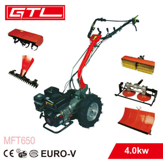 MTF650 Multi Functionele tuinfeest de 4-slag 6.5HP  Diesel