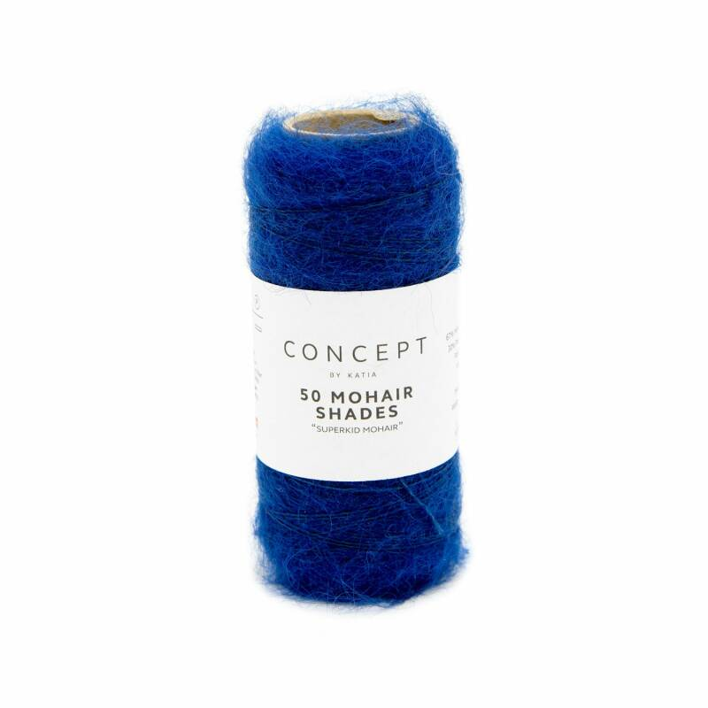 50 mohair shades - 33 - Donker blauw