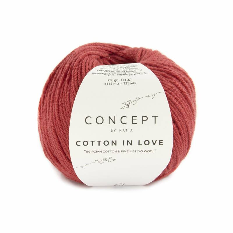 Cotton in love - 61 -  Rood
