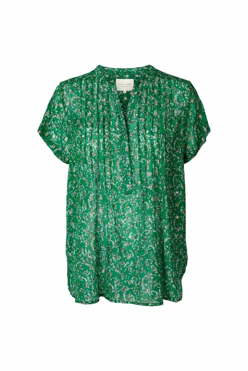 Lollys Laundry Heather top - green