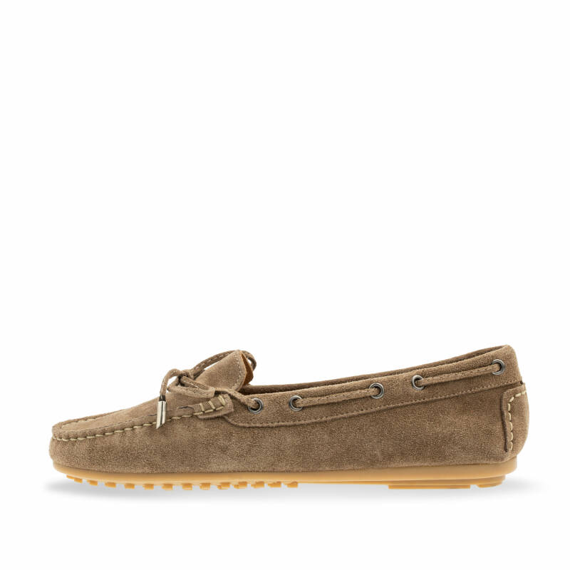 Babouche Lifestyle - mocassins taupe
