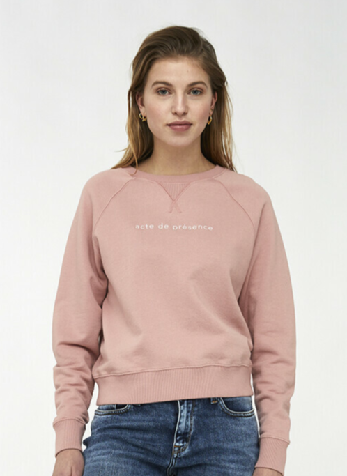By Bar Eve sweater - Ash rose