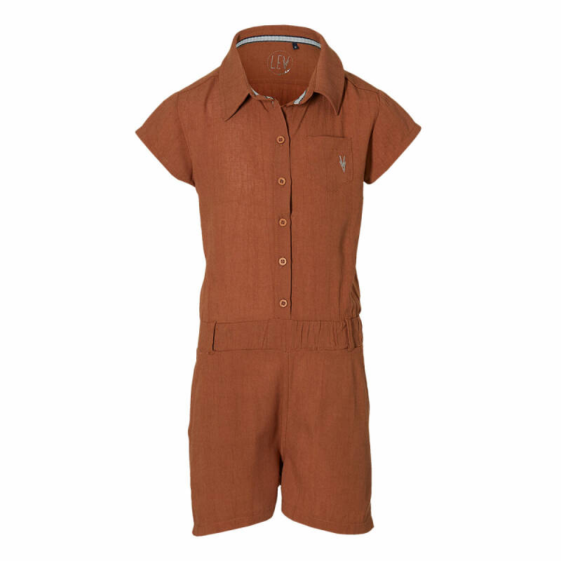 SS21 Levv girls Maral jumpsuit rust