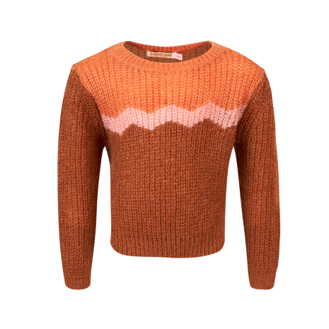 Someone Sweater Lucille-SG-12-G Cognac