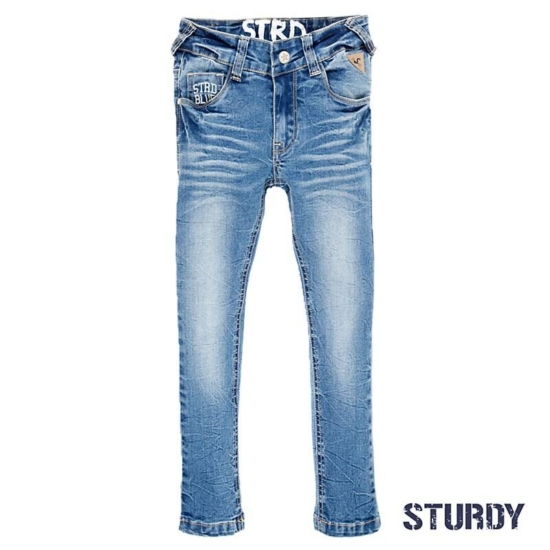 SS21 Sturdy Power stretched bleached denim 722.00109