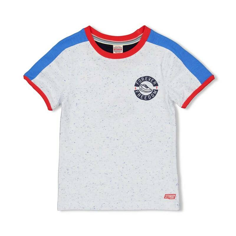SS21 Sturdy T-shirt forever-Playground 71700304 wit