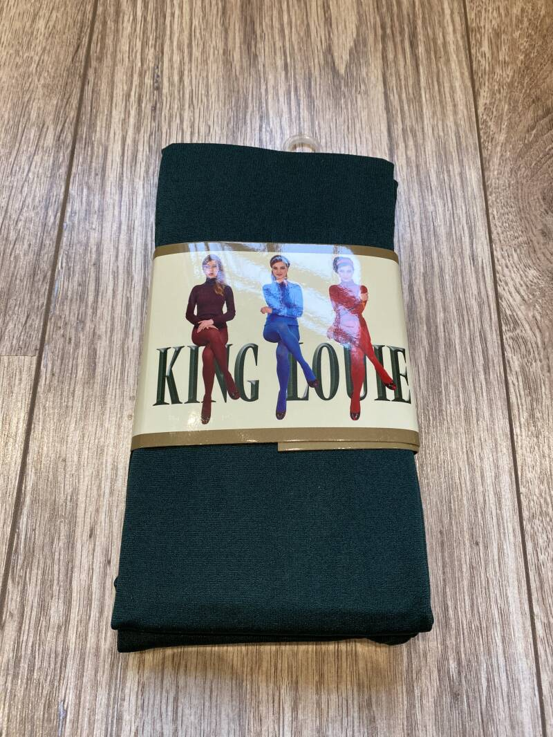 King Louie Panty Thights Solid Sycamore Green 120 denier