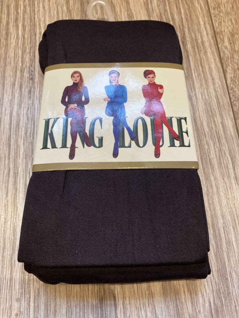 King Louie Panty Thights Solid Coffee 120 denier