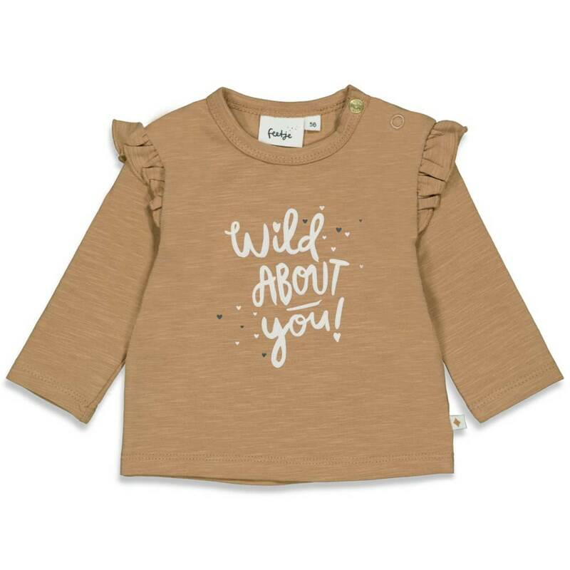 AW22 Feetje Longsleeve About You - Wild At Heart Camel