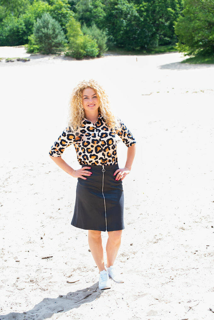 SS21 Blouse Flashy Leopard large