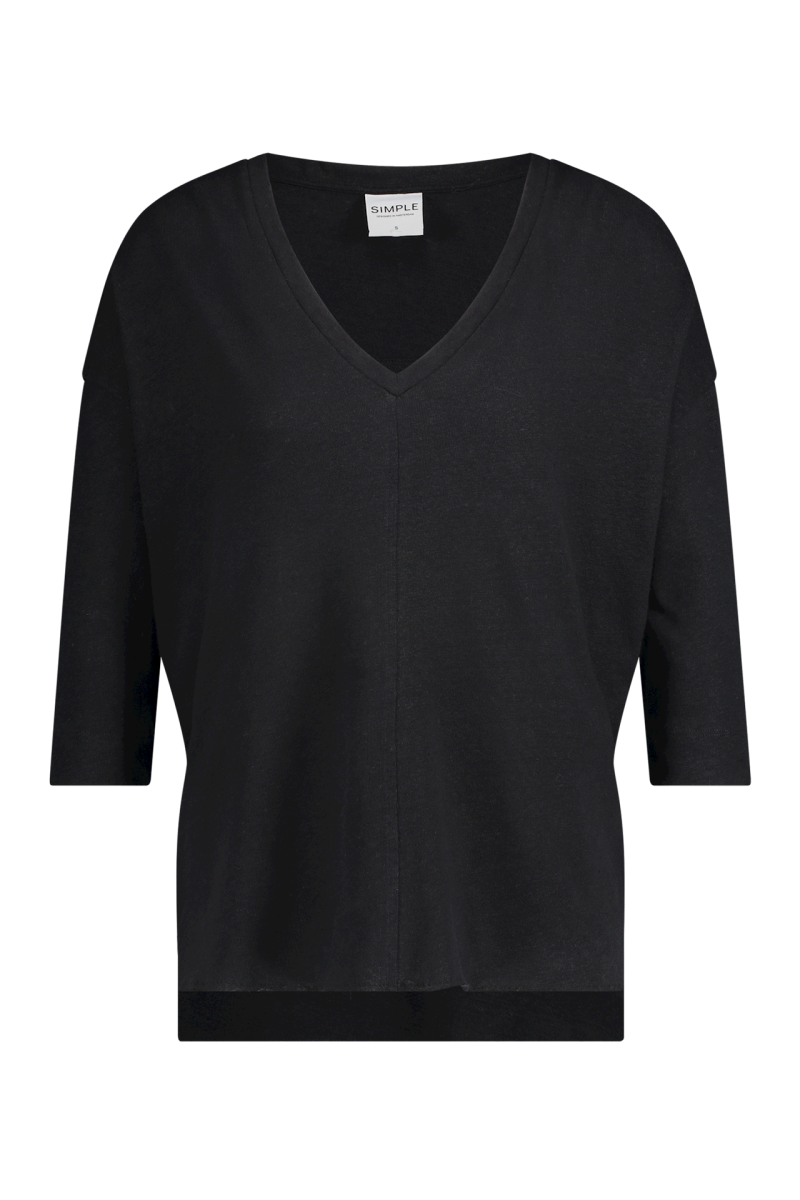 SS21 Simple Toadie Co-lin-02 Boxy top ls black