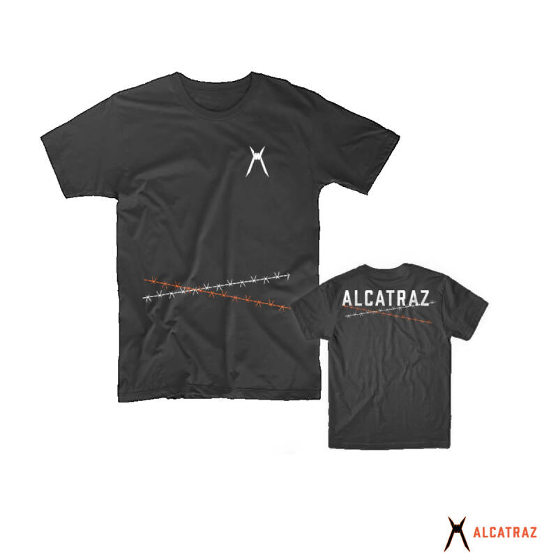 Alcatraz Heritage Men Tee - Black