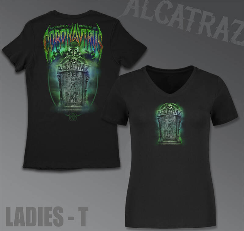 Alcatraz-Rona 2020 Ladies Tee - Black
