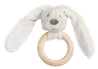 Ivory rabbit richie FSC wooden theething ring