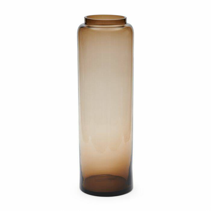 RM Tall vase brown