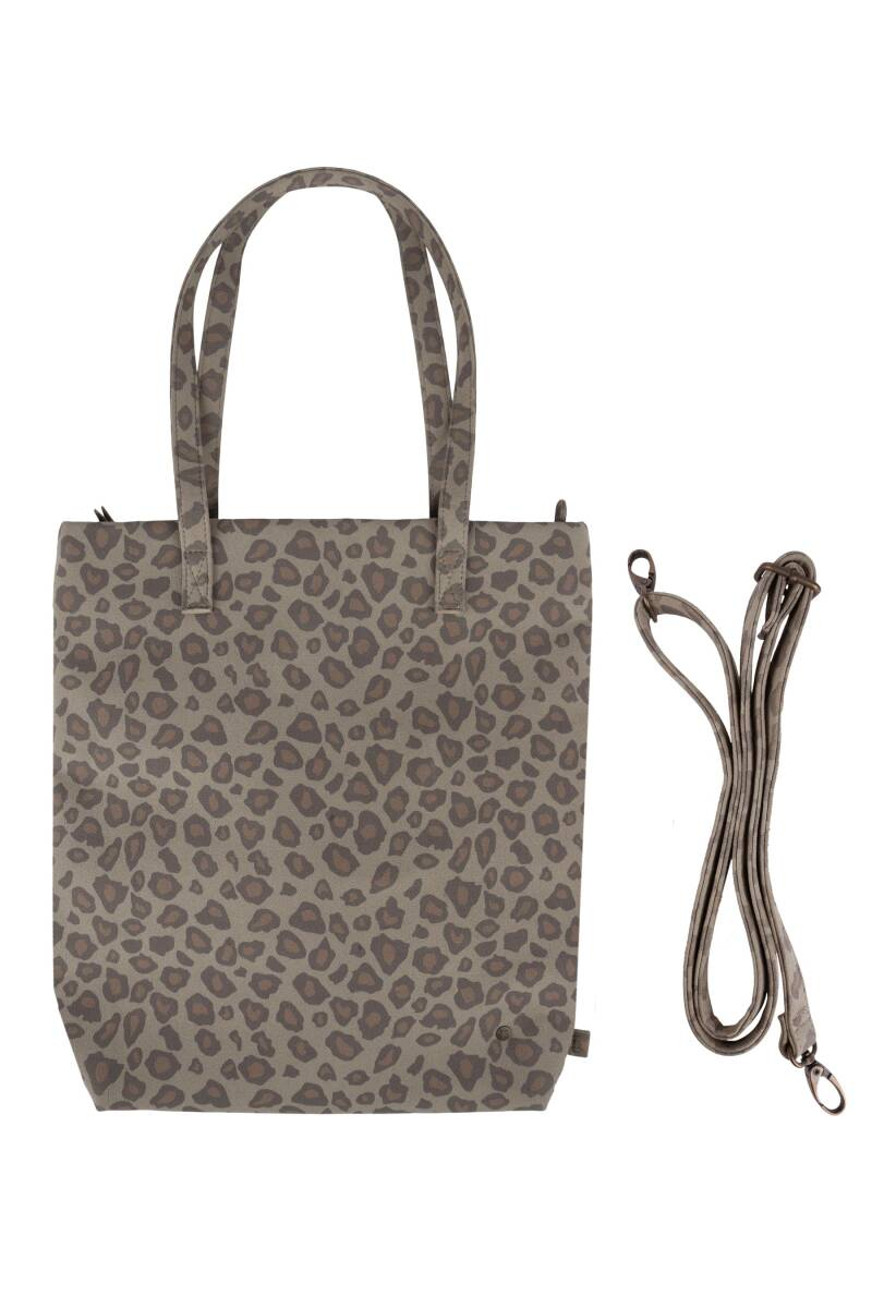 Basic shopper - Leopard