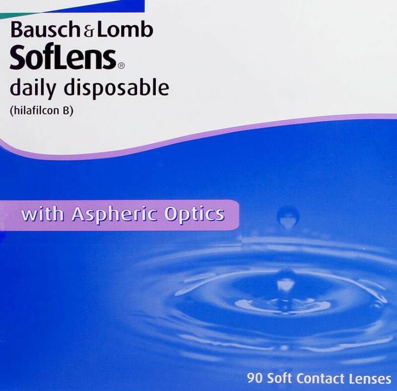 Bausch & Lomb Soflens Daily Disposable // 3 maanden pakket